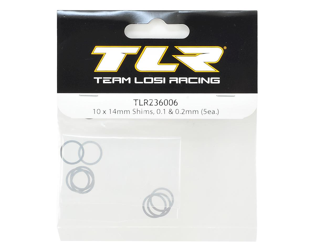 Team Losi Racing 10x14mm Shim Set (0.1mm & 0.2mm) (5)