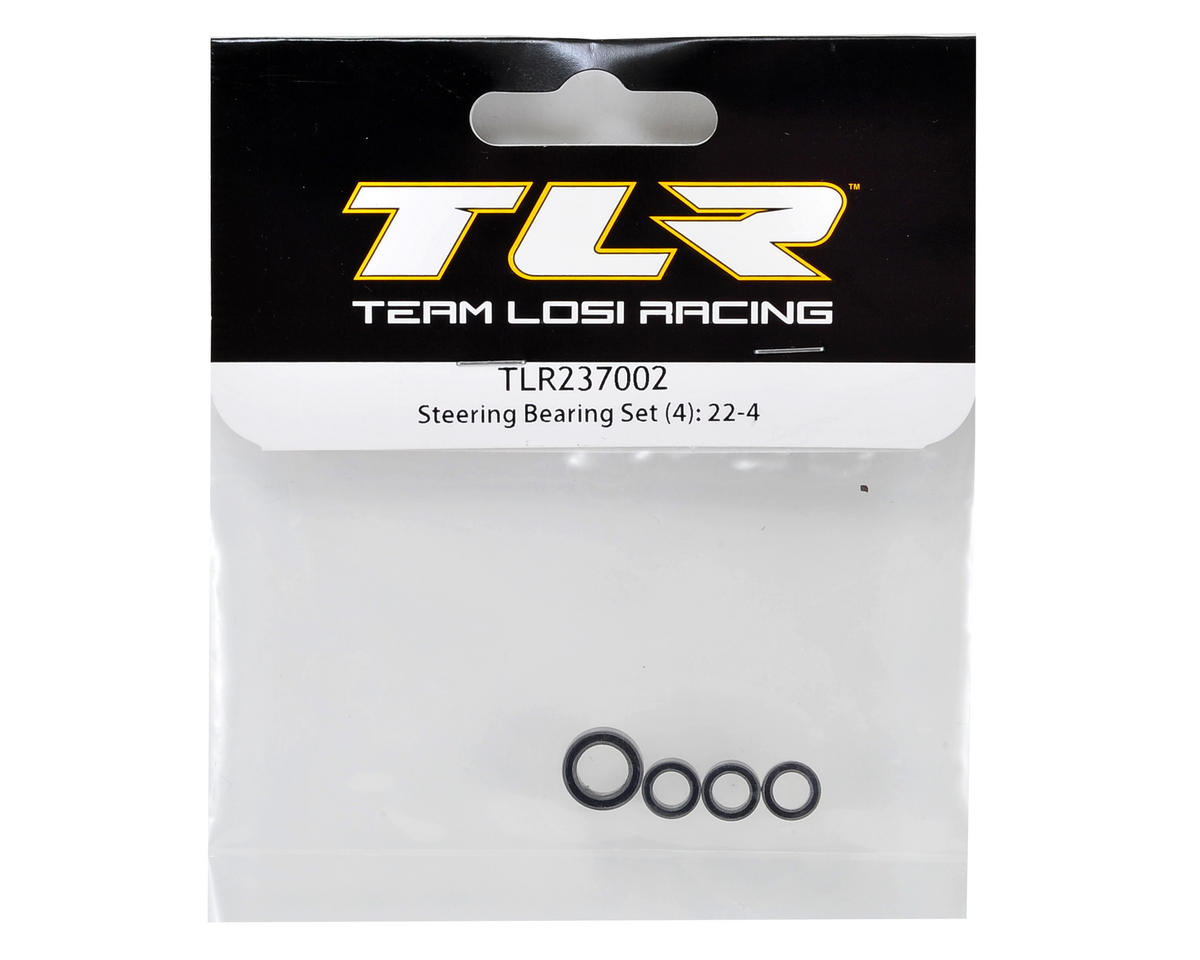 22-4 Steering Bearing Set (4) by Team Losi Racing