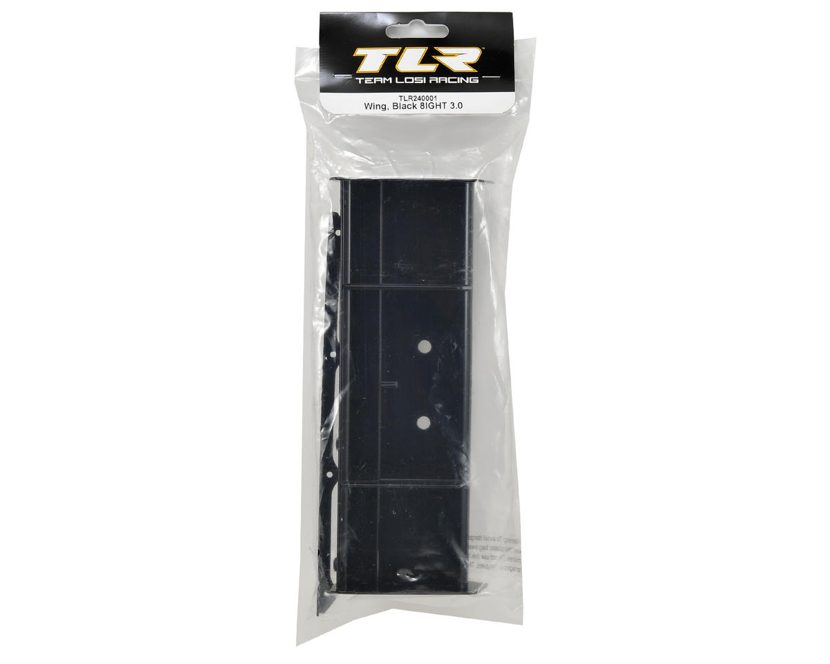 Team Losi Racing 8IGHT 3.0 Wing (Black)