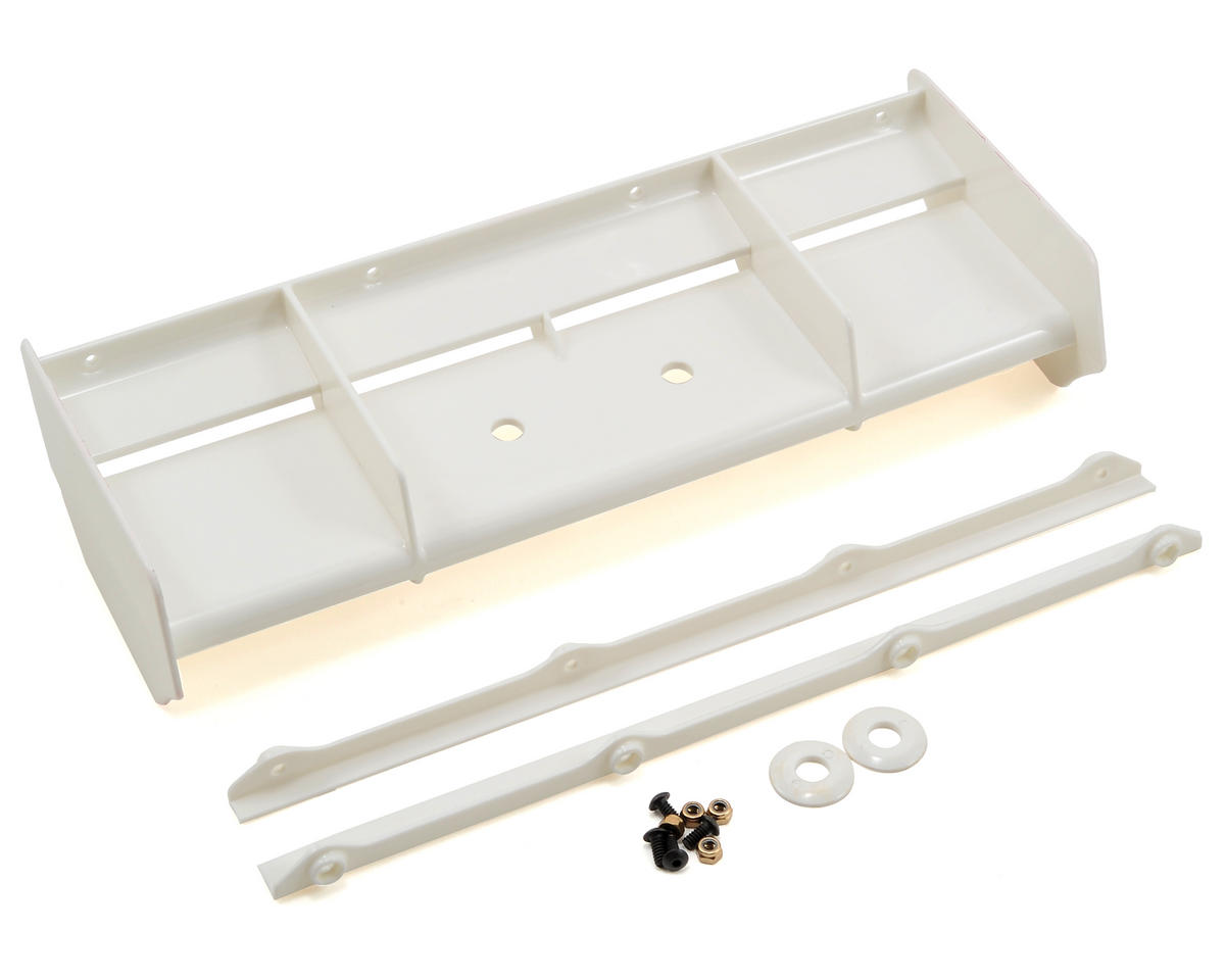 8IGHT 3.0 Wing (White) by Team Losi Racing