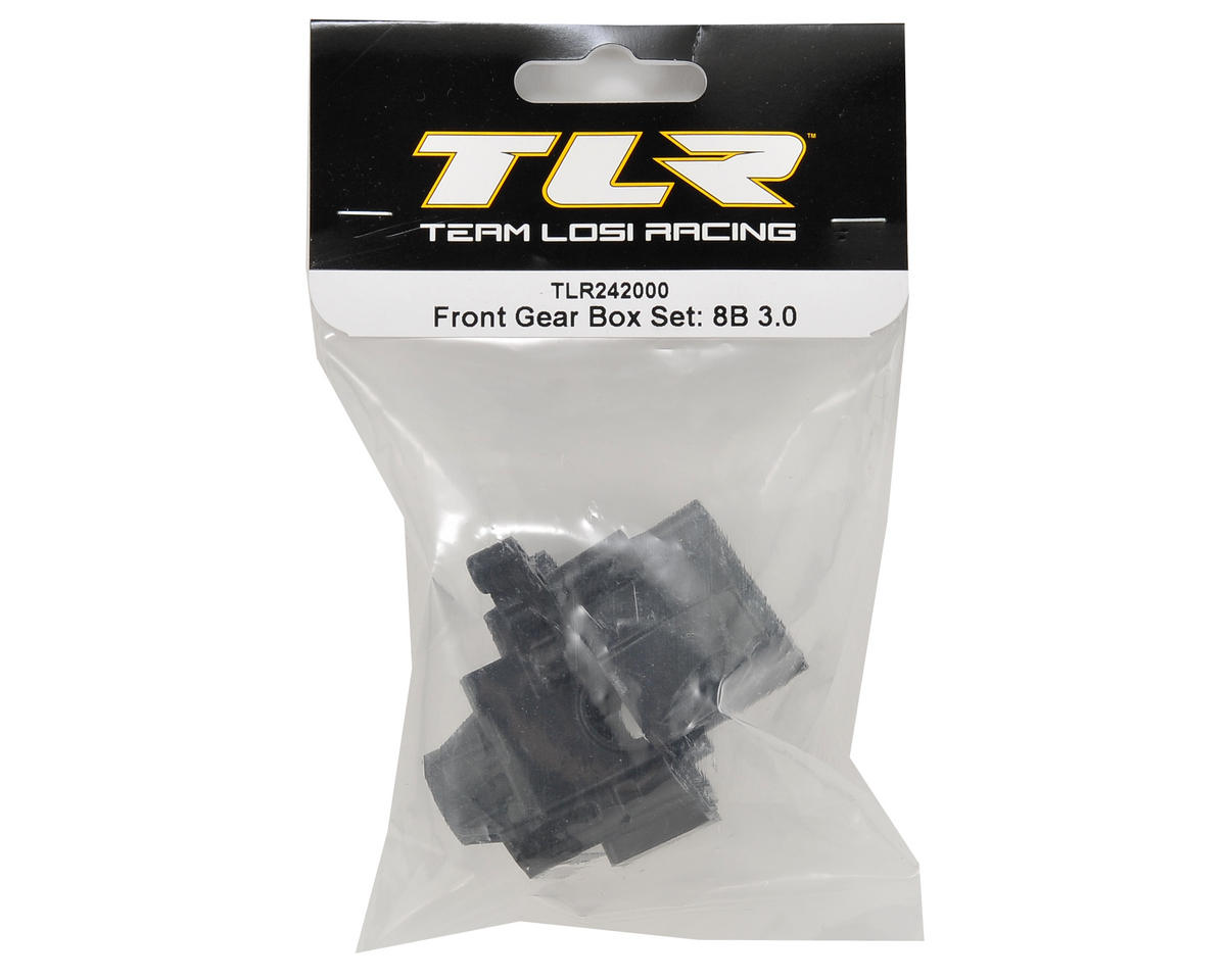 Team Losi Racing 8IGHT 3.0 Front Gear Box Set