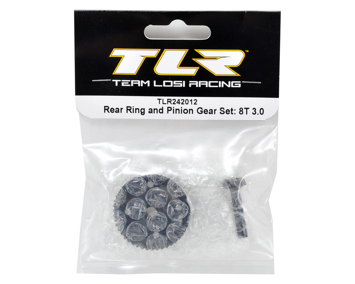 Team Losi Racing 8IGHT-T 3.0 Rear Ring & Pinion Gear Set