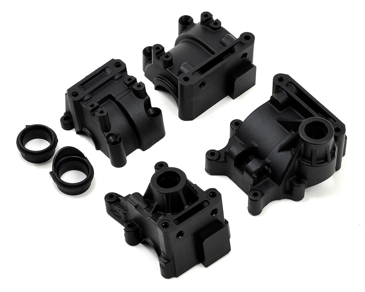 Team Losi 8IGHT 2.0 Racing Front & Rear Gear Box Set