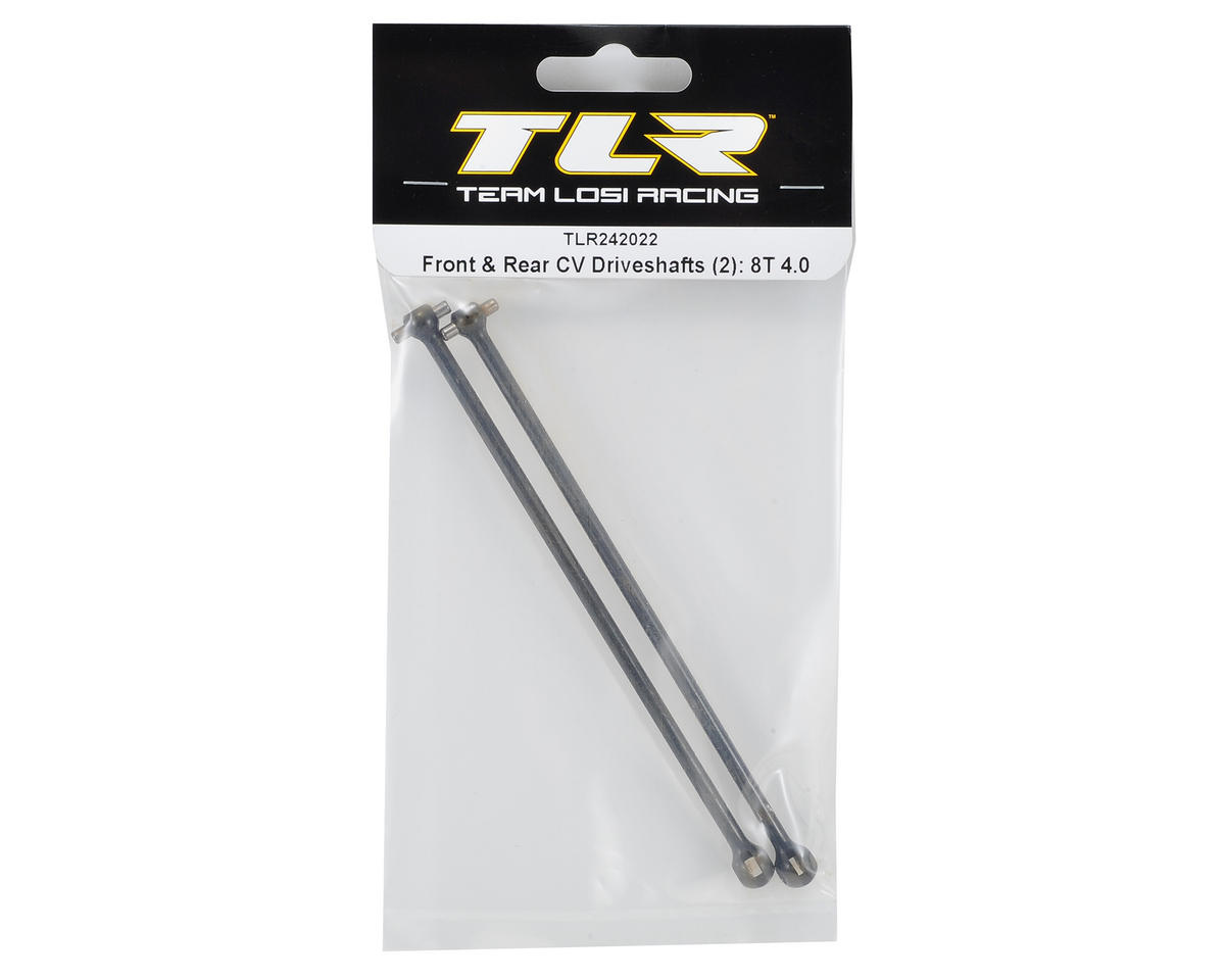 Team Losi Racing Front & Rear CV Driveshafts (2)