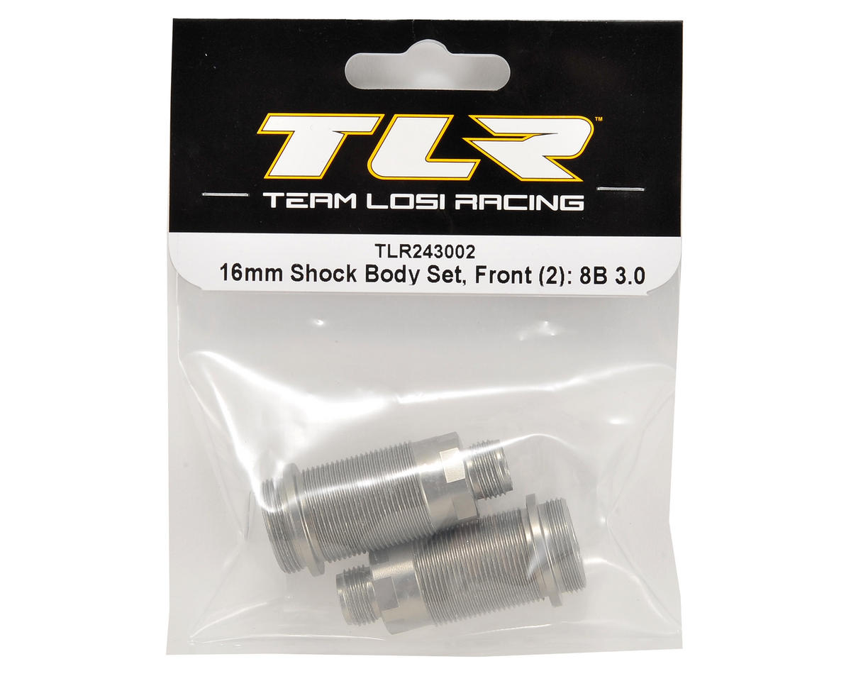 Team Losi Racing 16mm Front Shock Body (2)