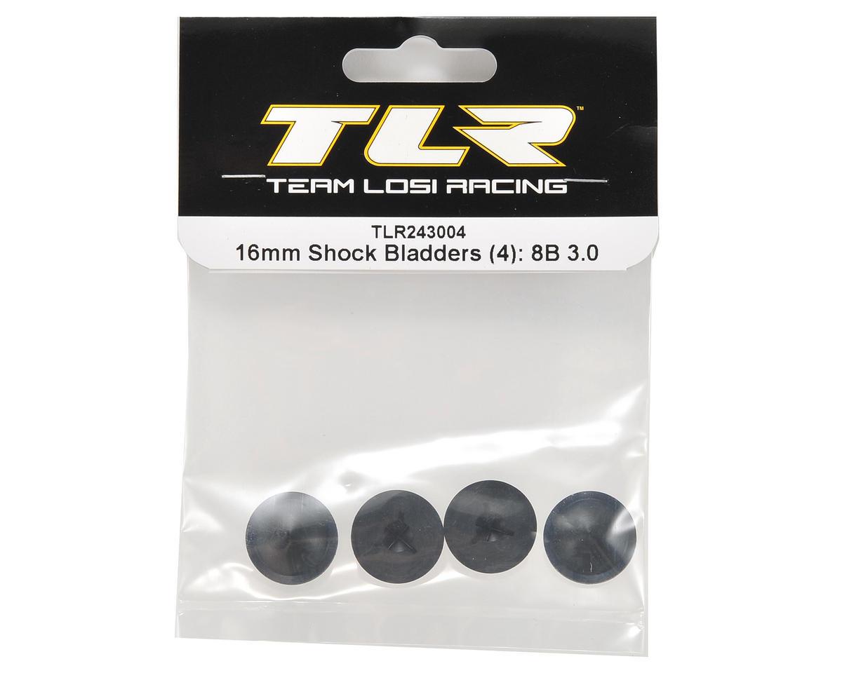 Team Losi Racing 16mm Shock Bladders (4)