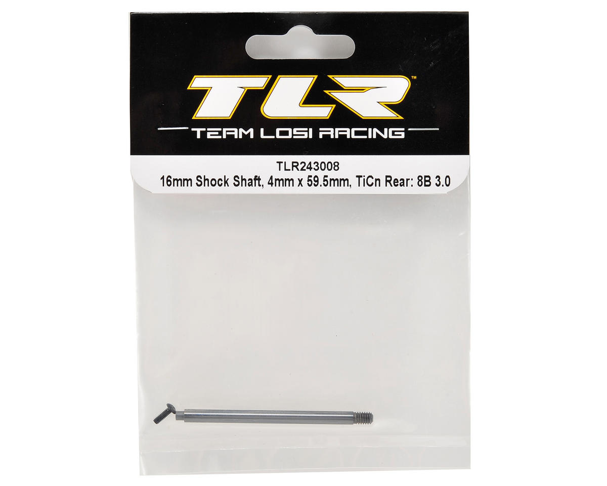 Team Losi Racing 4x59.5mm TiCn Rear Shock Shaft
