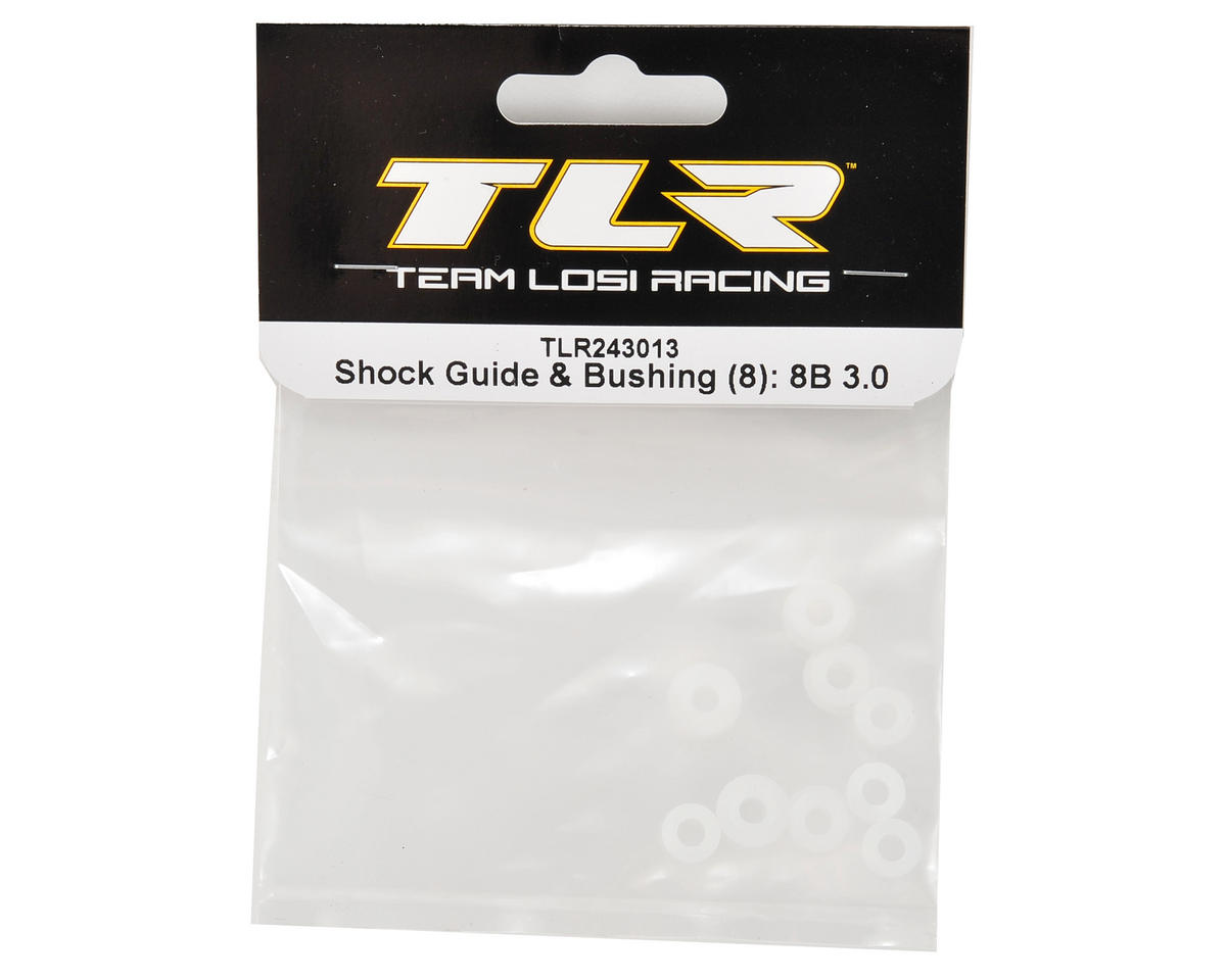 Team Losi Racing Shock Guide & Bushing Set (8)
