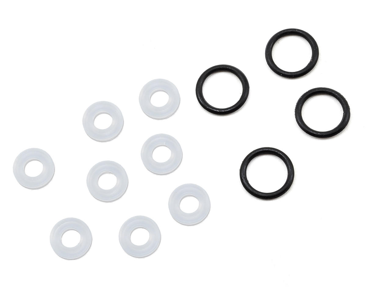 8IGHT Lower Shock Cap X-Ring Seal Set by Team Losi Racing