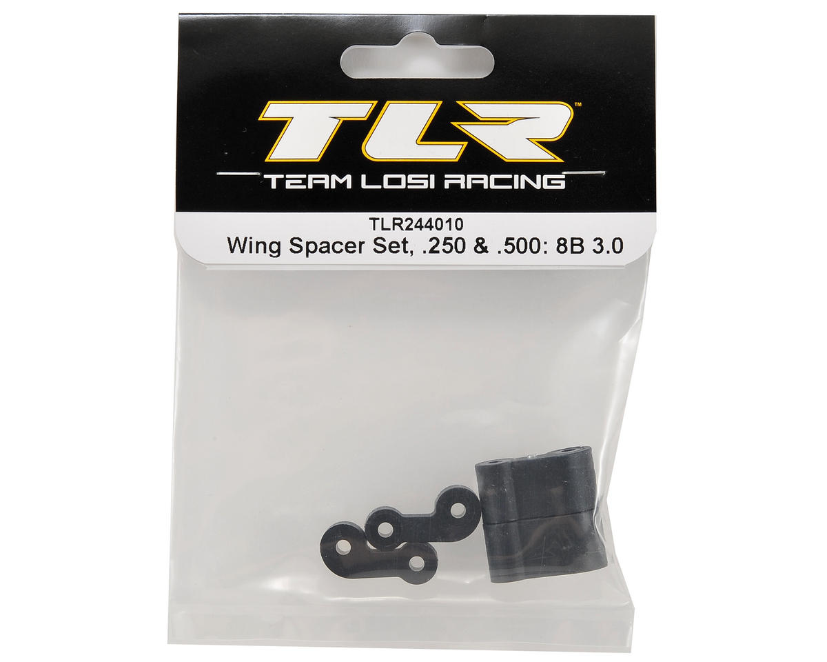 Team Losi Racing .250 & .500 Wing Spacer Set