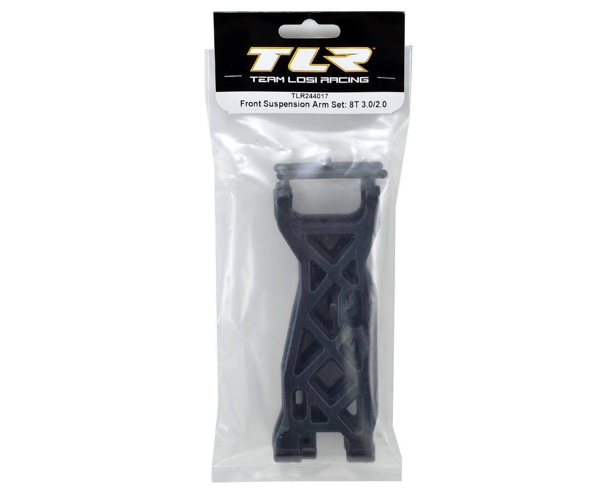 8IGHT-T 3.0 Front Suspension Arm Set by Team Losi Racing