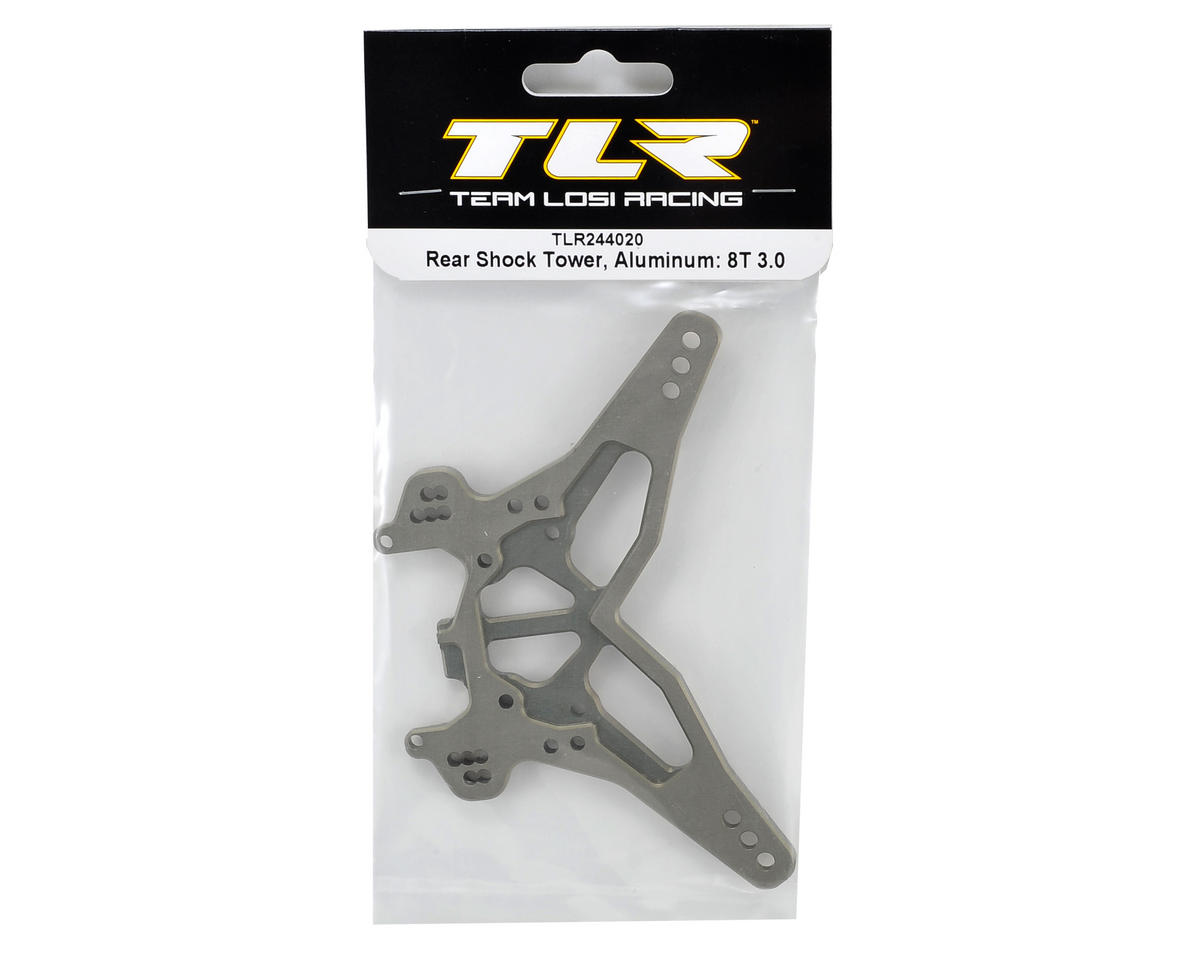 Team Losi Racing 8IGHT-T 3.0 Aluminum Rear Shock Tower