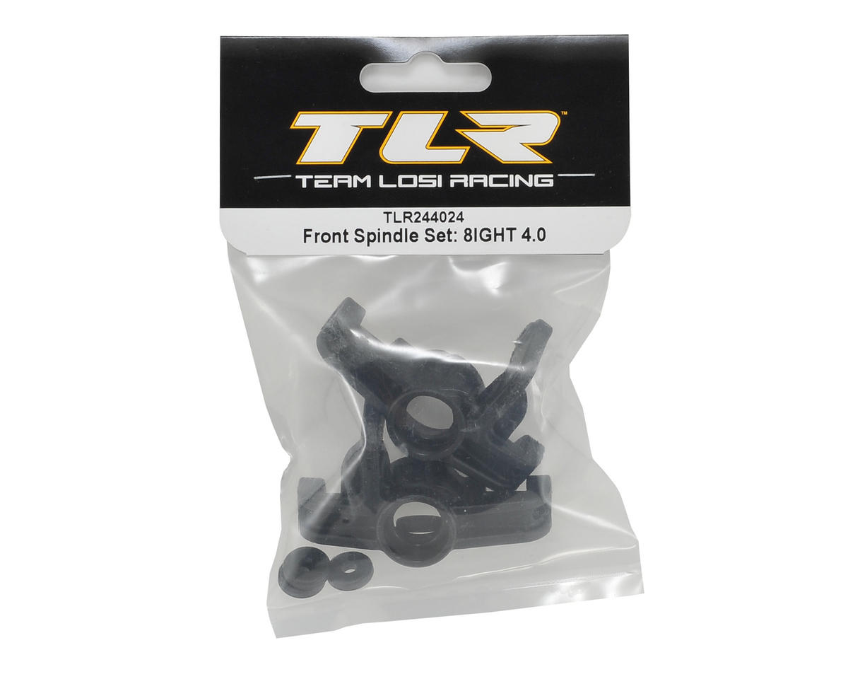 Team Losi Racing 8IGHT 4.0 Front Spindle Set