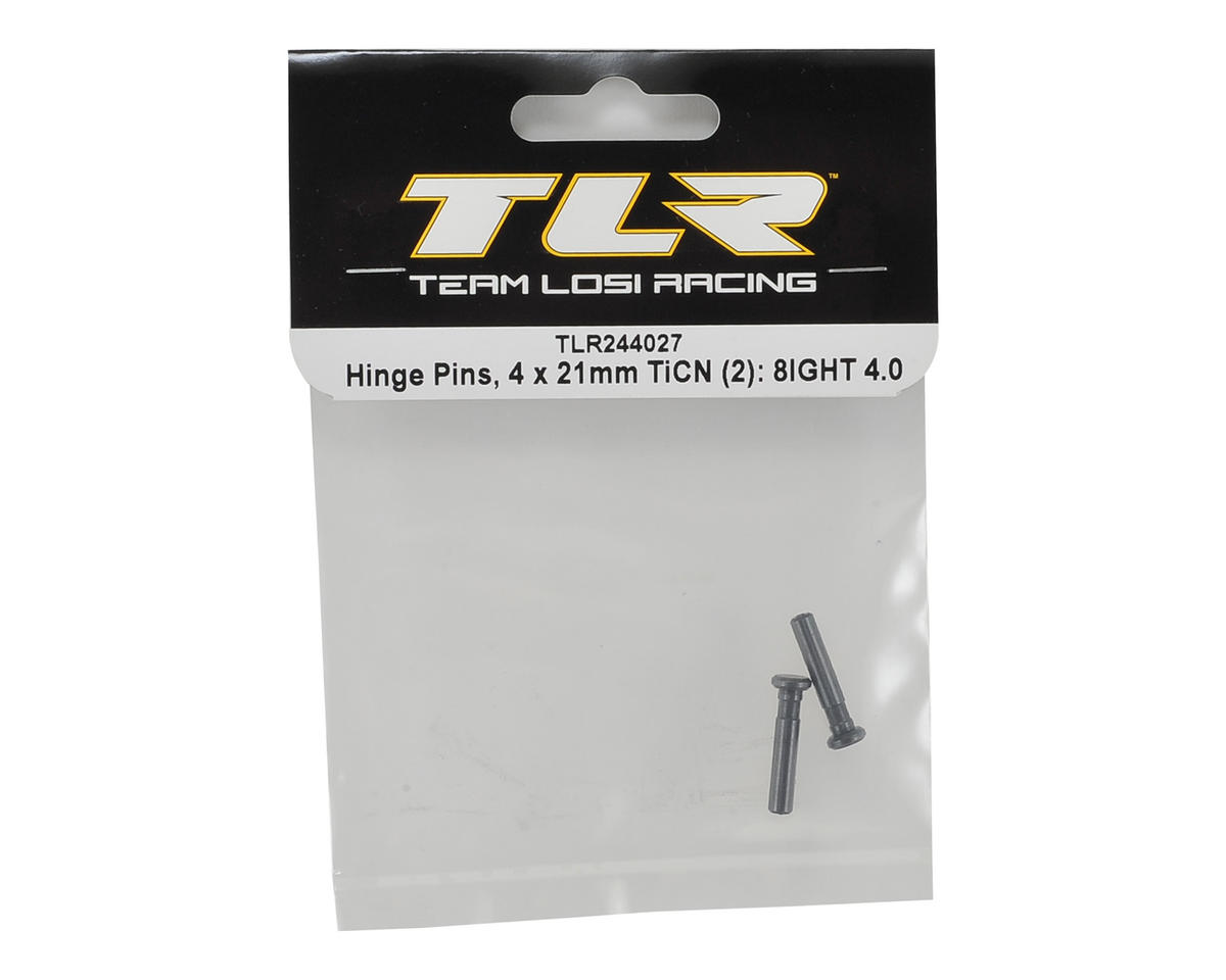 Team Losi Racing 8IGHT 4.0 4x21mm TiCN Hinge Pins (2)
