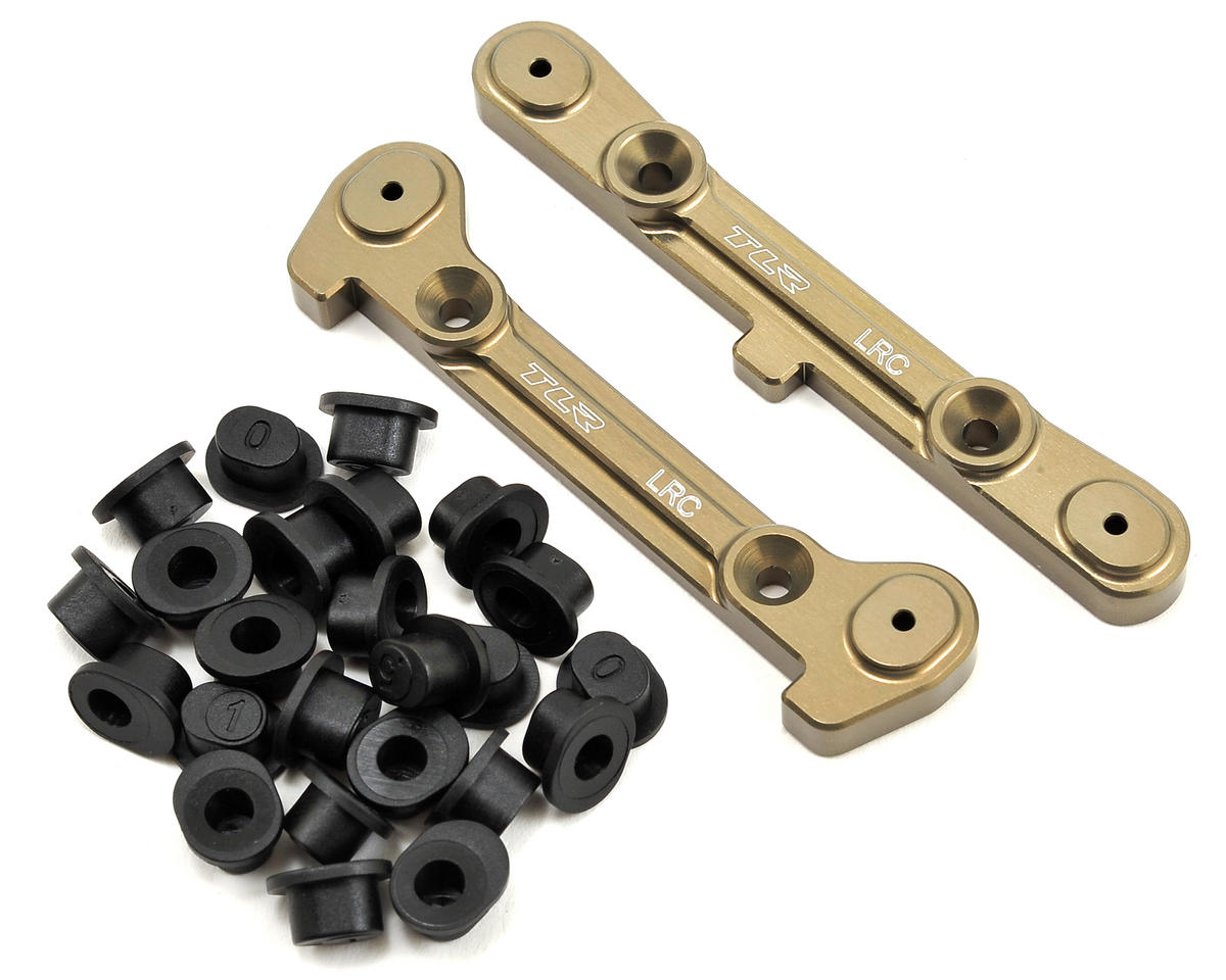 Team Losi Racing 8IGHT 4.0 LRC Adjustable Rear Hinge Pin Brace Set