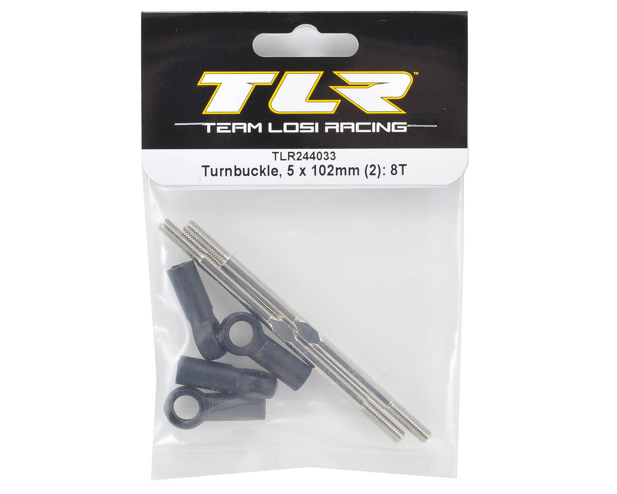 Team Losi Racing 5x102mm Turnbuckle (2)