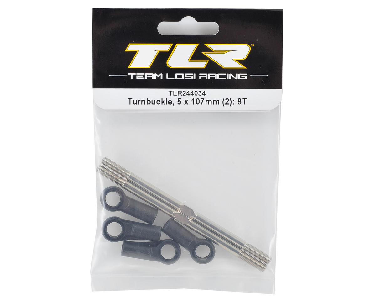 Team Losi Racing 5x107mm Turnbuckle (2)