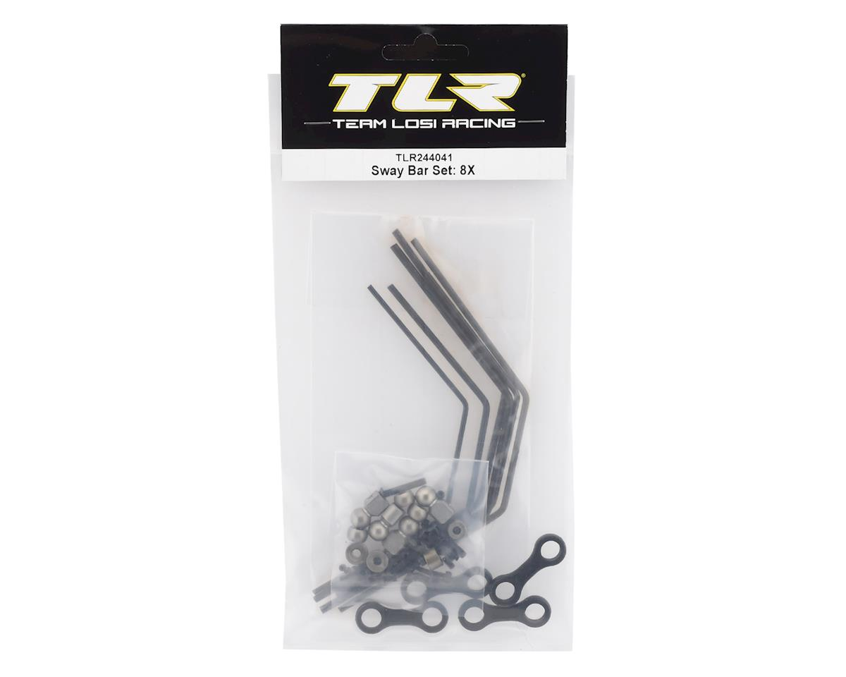 Team Losi Racing 8IGHT-X Anti Roll Sway Bar & Mounting Hardware Set