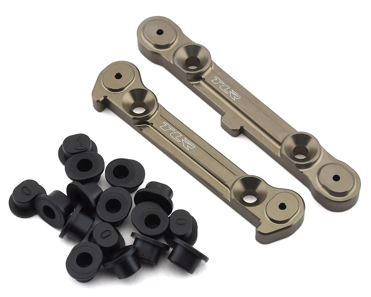 Team Losi Racing 8IGHT-X Adjustable Rear Hinge Pin Brace Set w/Inserts