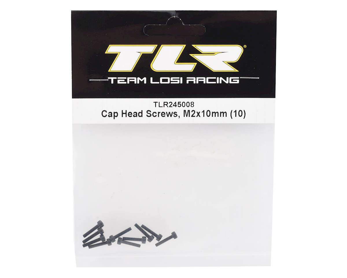 Team Losi Racing 2x10mm Cap Head Hex Screws (10)