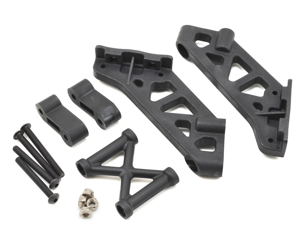 Team Losi Racing 5IVE-B Wing Mount, Brace & Spacer Set