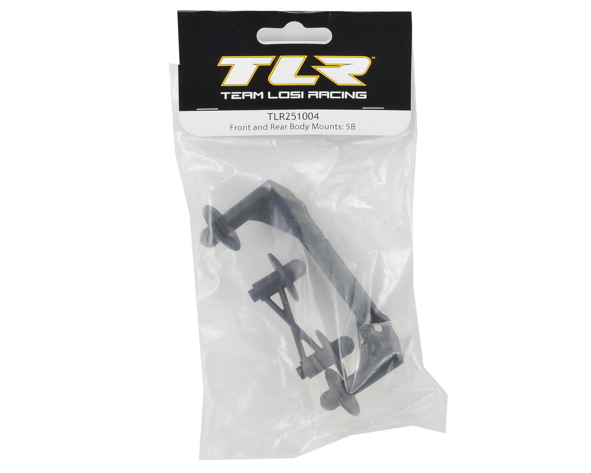Team Losi Racing 5IVE-B Front & Rear Body Mounts
