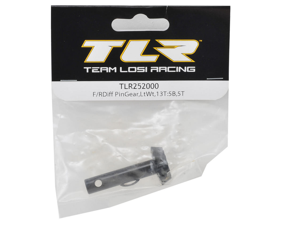 Team Losi Racing Lightened:Front/Rear Diff Pinion Gear (13T)