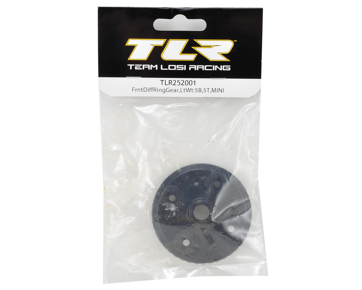 Team Losi Racing 5IVE Lightened Front Differential Ring Gear