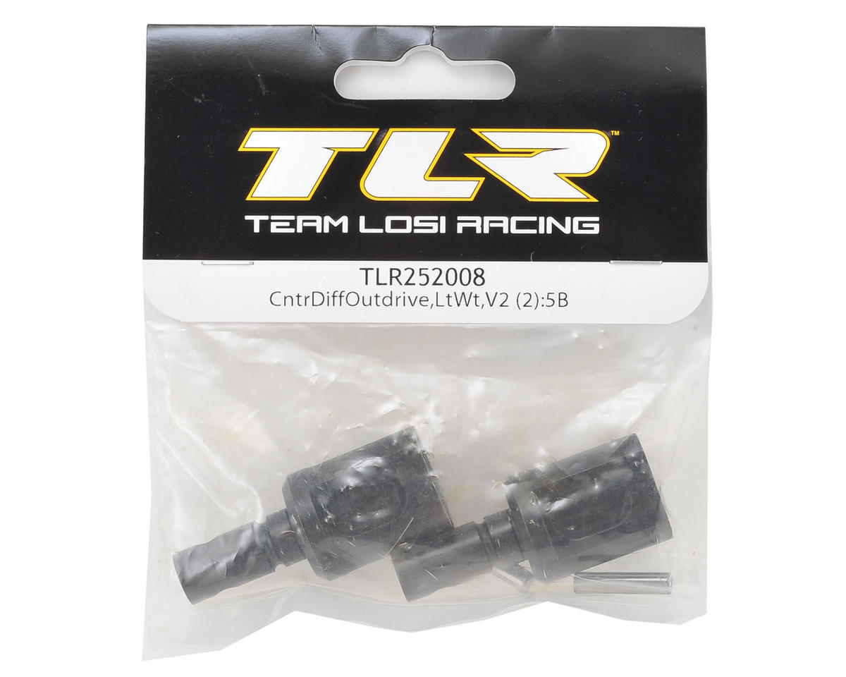 Team Losi Racing 5IVE V2 Lightened Center Diff Outdrive (2)