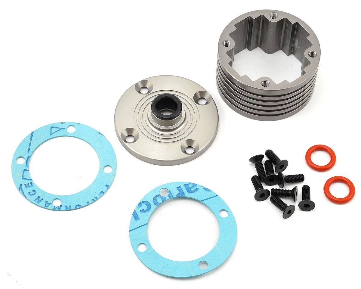 Team Losi 5IVE-B Racing Aluminum Differential Housing Set