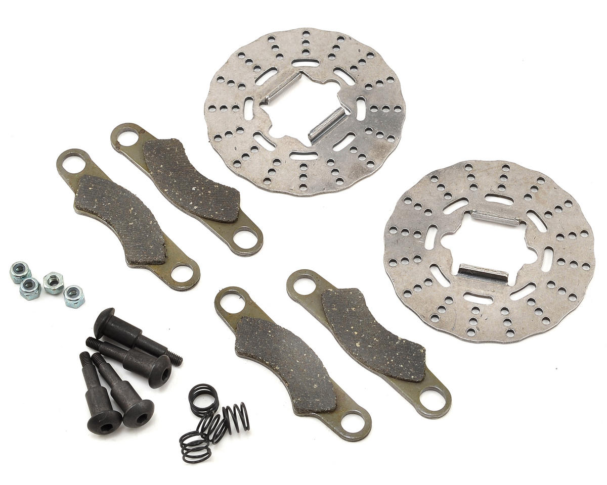 Team Losi Racing 5IVE Brake Disc, Pad & Screw Set