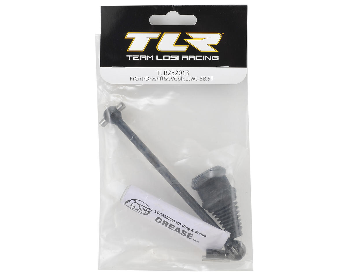 5IVE-B Lightweight Front Center Driveshaft & CV Coupler by Team Losi Racing