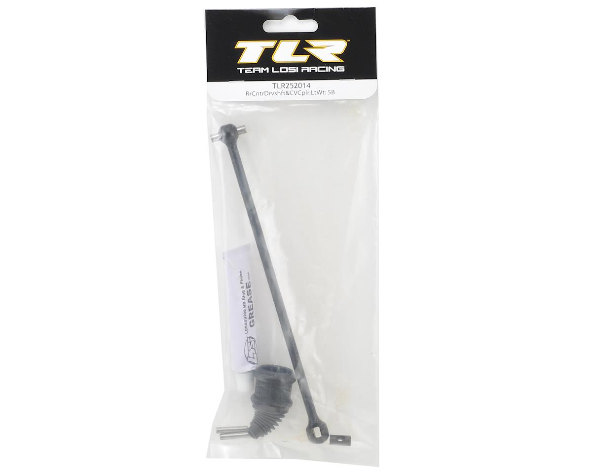 5IVE-B Lightweight Rear Center Driveshaft & CV Coupler by Team Losi Racing