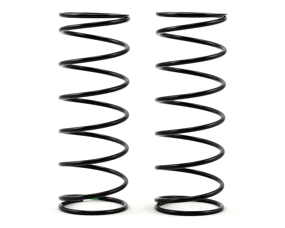 Team Losi Racing 5IVE-B Front Shock Spring (2) (Green - 8.1 lb Rate)