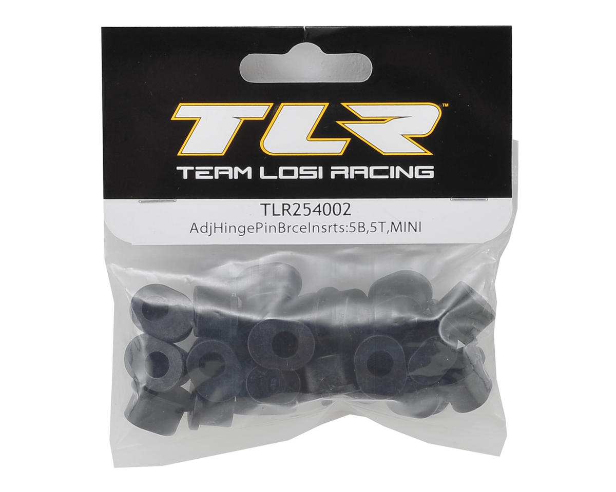 Team Losi Racing Adjustable Hinge Pin Brace Inserts