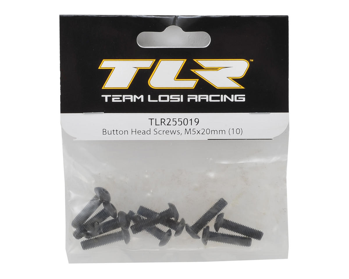 Team Losi Racing 5x20mm Button Head Hex Screw (10)