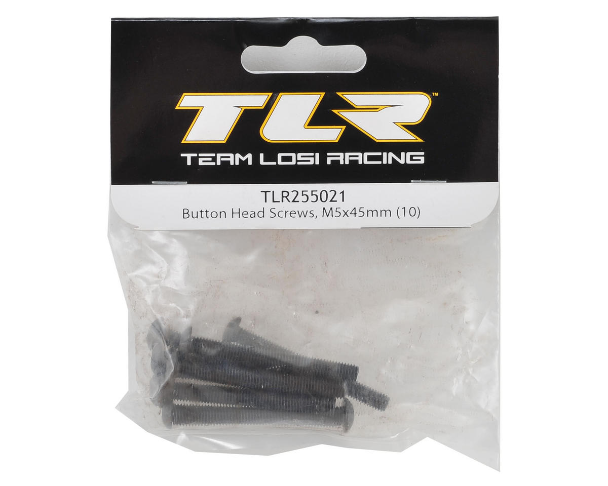 Team Losi Racing 5x45mm Button Head Hex Screw (10)