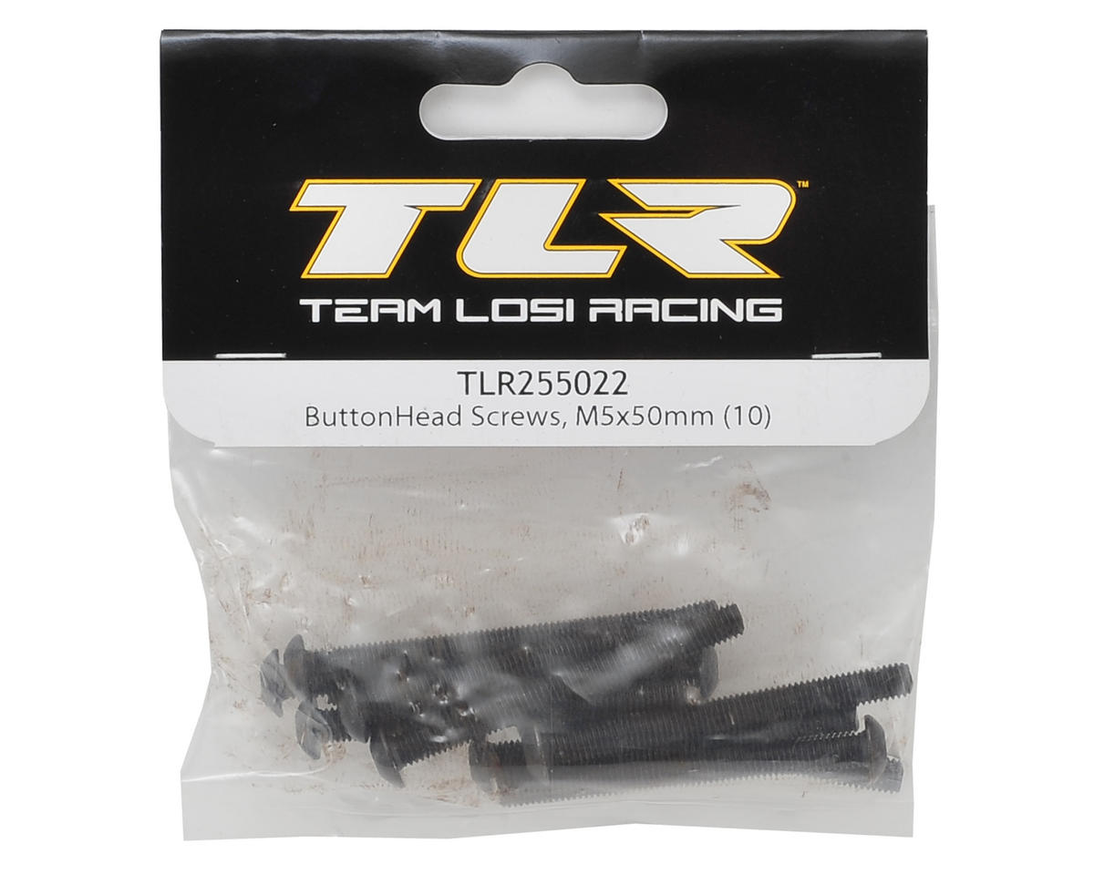 Team Losi Racing 5x50mm Button Head Screw (10)