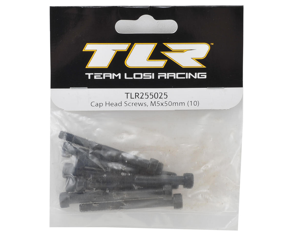 Team Losi Racing 5x50mm Cap Head Hex Screw (10)