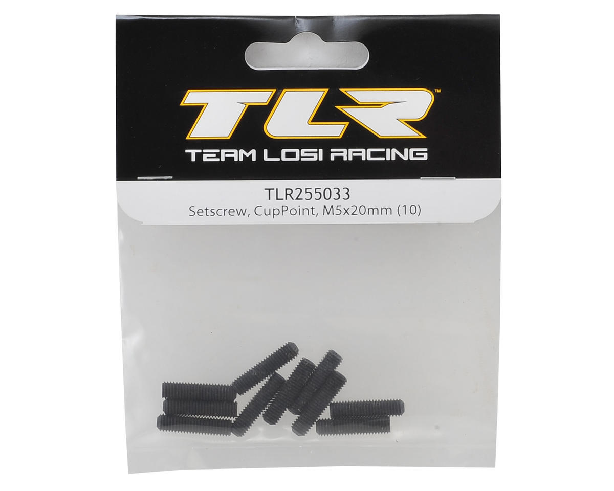 Team Losi Racing 5x20mm Hex Set Screw (10)