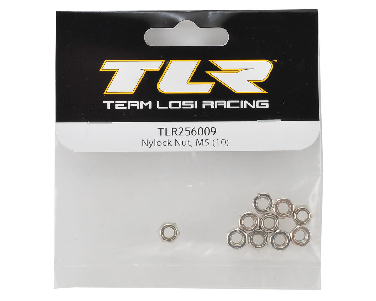 Team Losi Racing M5 Nylock Nut (10)