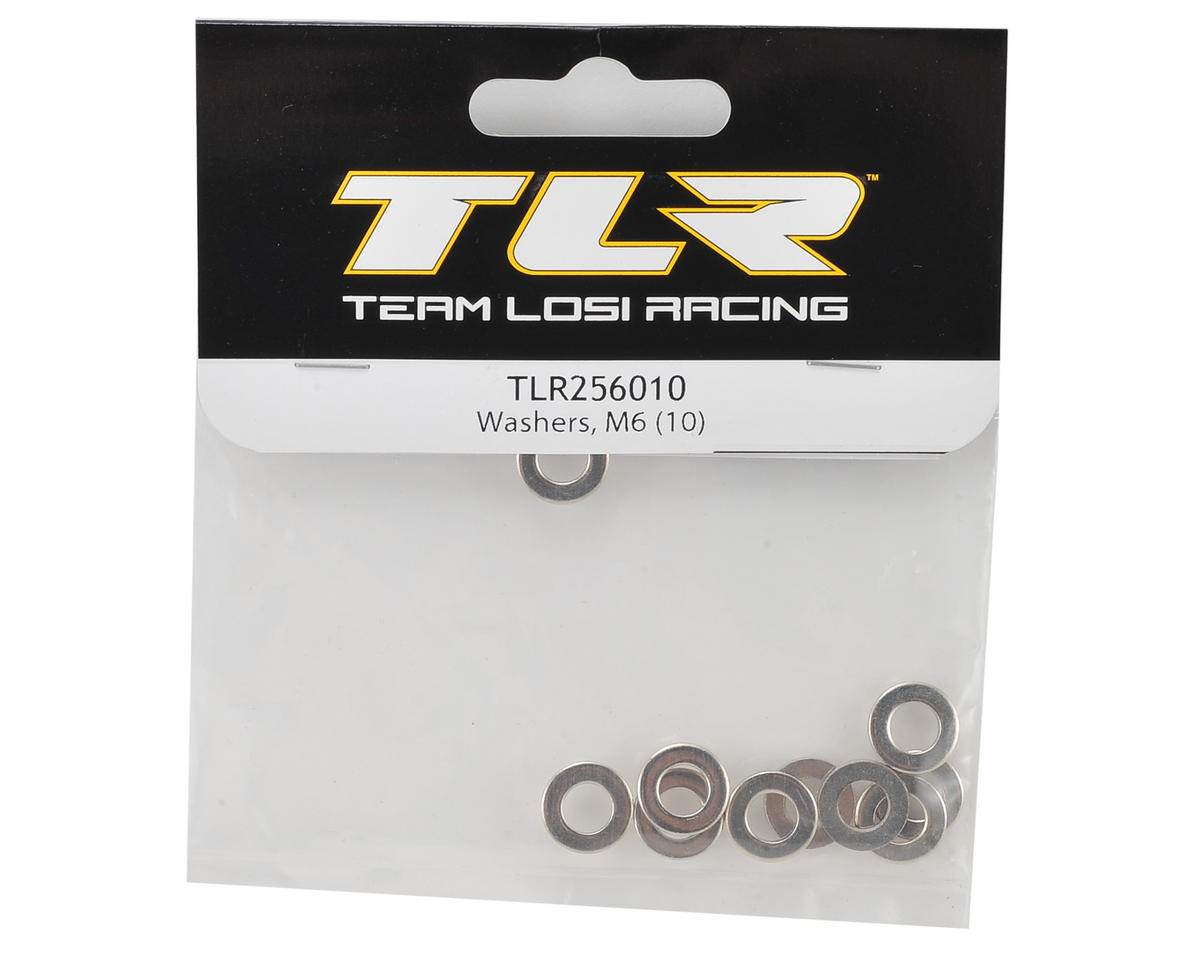Team Losi Racing M6 Washer (10)
