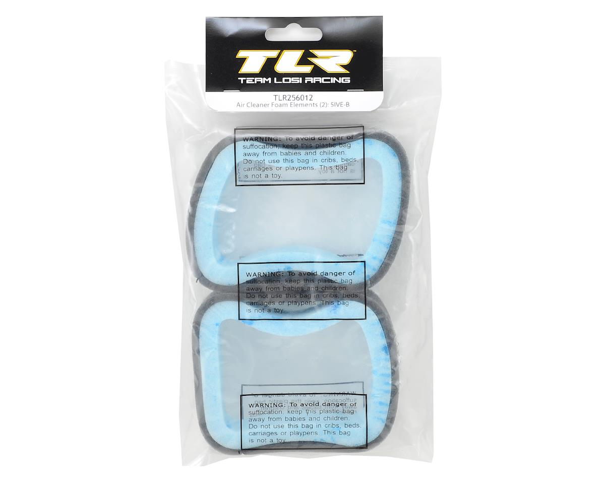 5IVE-B Air Cleaner Foam Filter Element (2) by Team Losi Racing