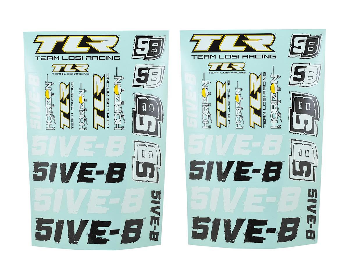 5IVE-B Sticker Sheet Set by Team Losi Racing