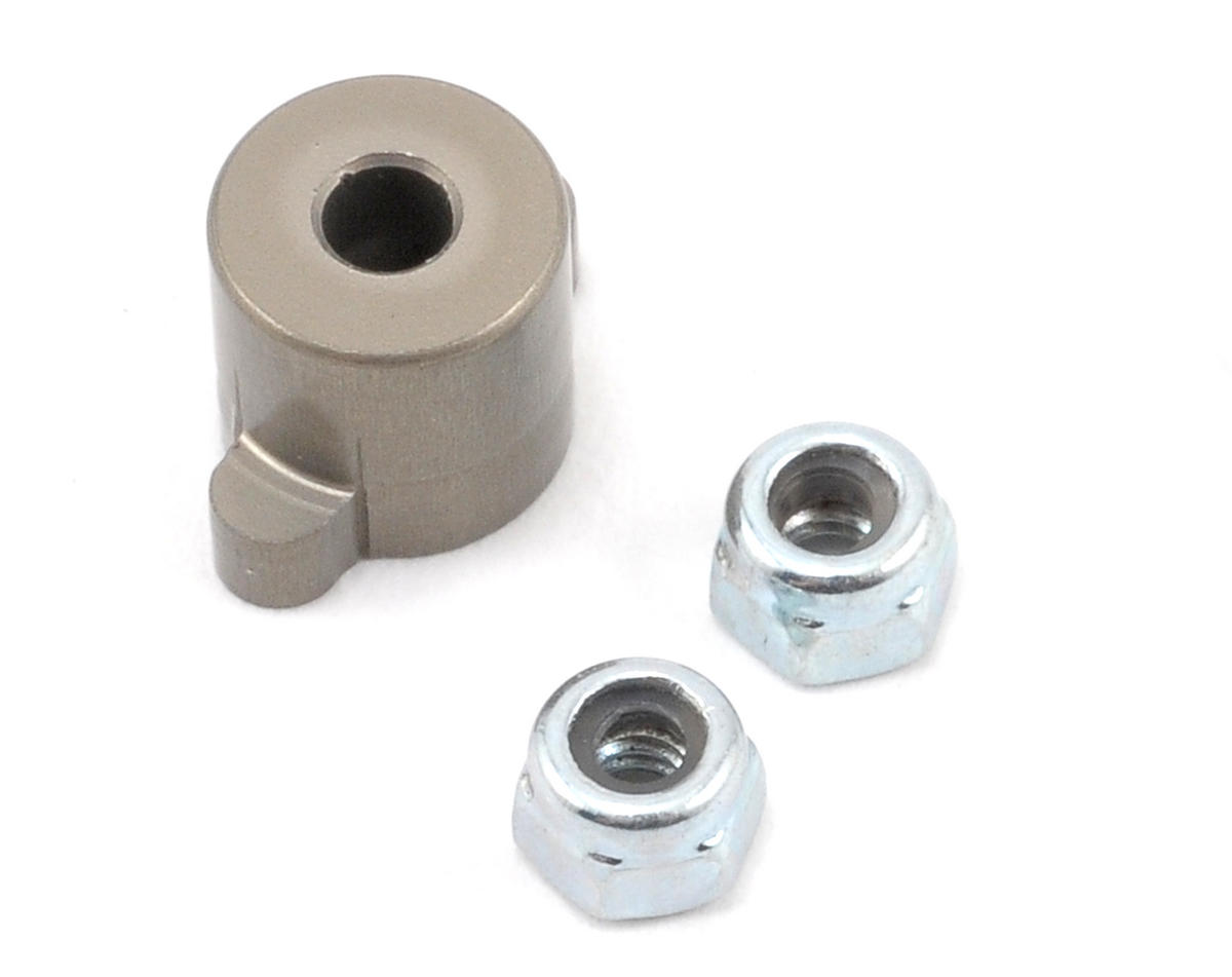 Team Losi Racing Aluminum Differential Nut Holder (TLR 22)