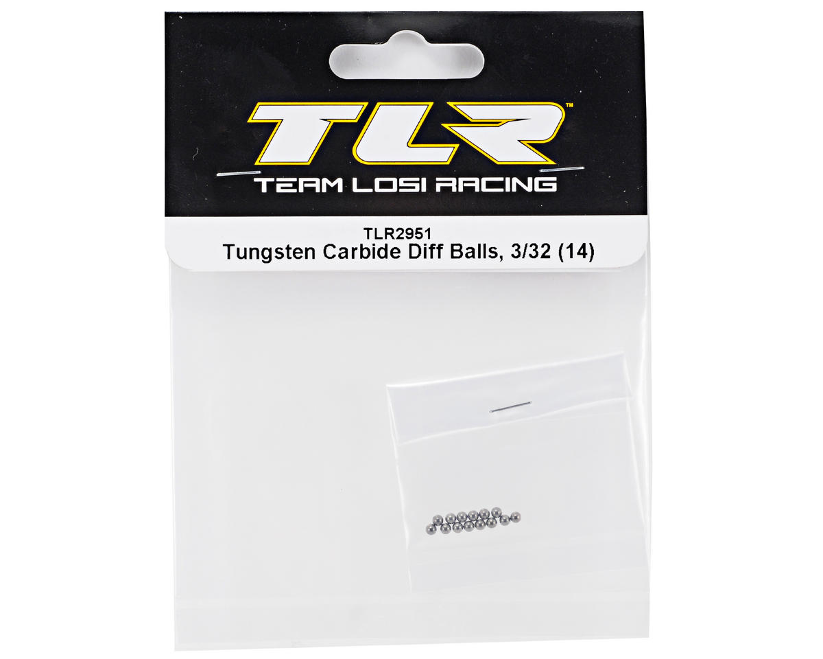 Team Losi Racing 3/32 Tungsten Carbide Diff Ball Set (14)