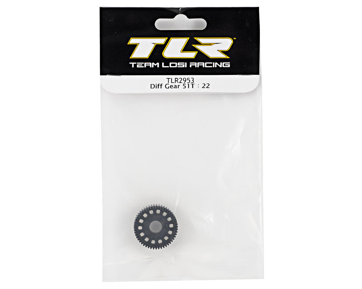 Team Losi Racing 51T Differential Gear (TLR 22)