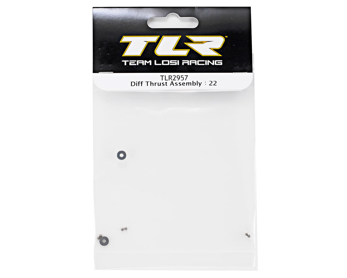 Team Losi Racing Differential Thrust Assembly (TLR 22)