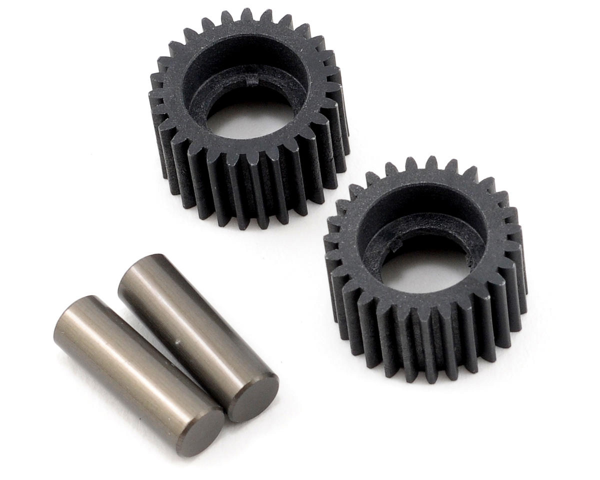 Idler Gear & Shaft Set (2) (TLR 22) by Team Losi Racing