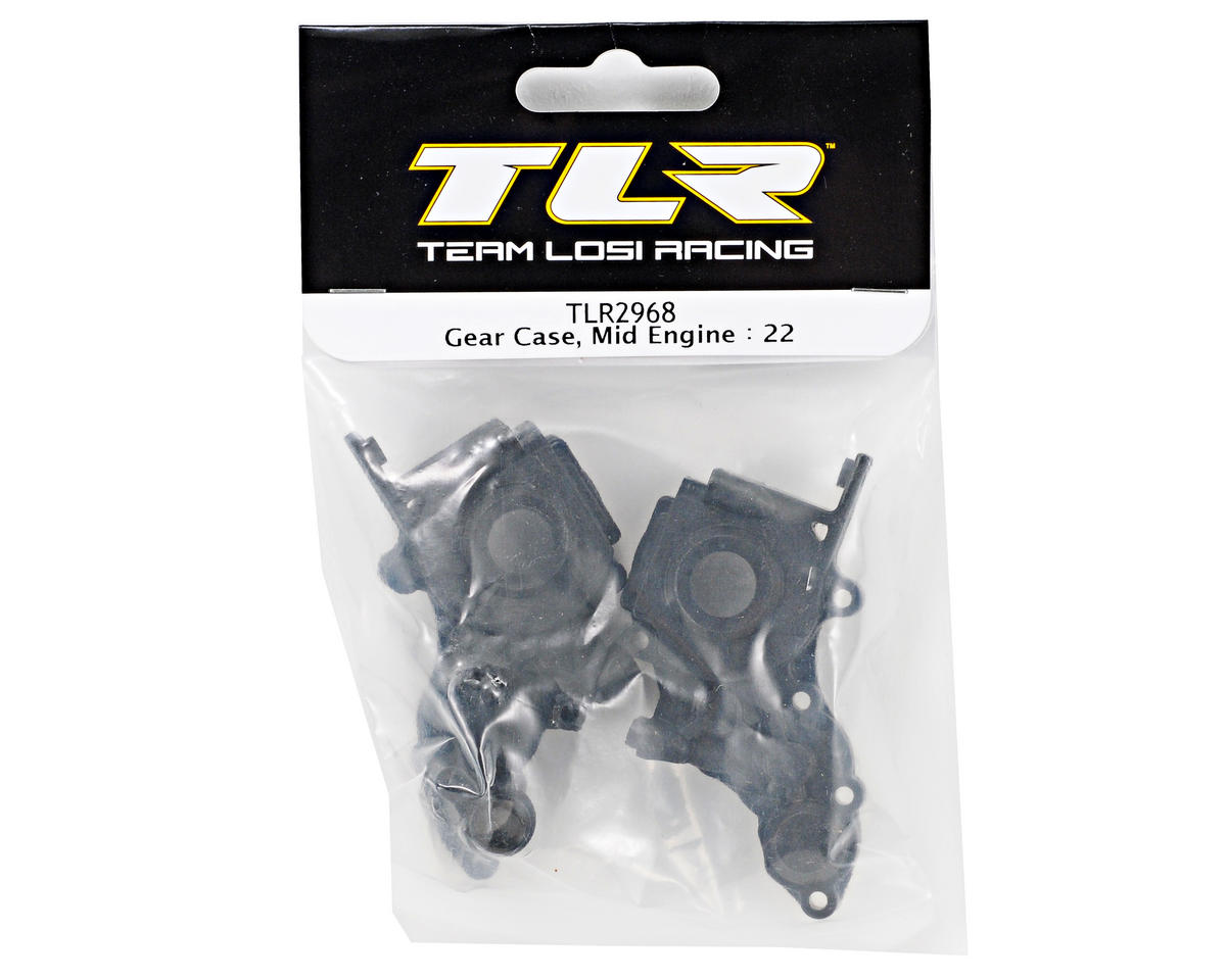 Team Losi Racing Gear Case (Mid Motor) (TLR 22)